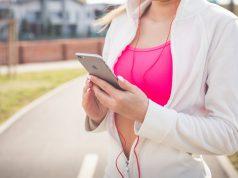 Kobieta - sport i aktywność - telefon Apple iPhone