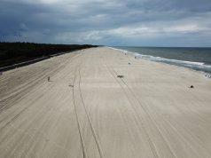 poszerzanie plaż w Jastrzębiej Górze i Ostrowie