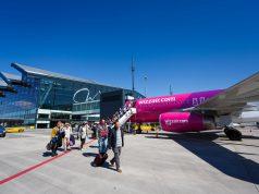 Wizz Air na lotnisku w Gdańsku