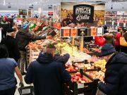 Tłumy na otwarciu sklepu LIDL w Lęborku. Promocje potrwają do 15 grudnia