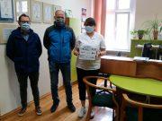 Radni klubu Mocna Wieś przekazali sprzęt dla lęborskiego szpitala.